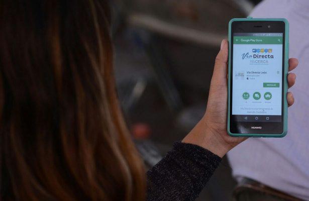 """Trámites y reportes en """"vía directa"""" a través de app"""