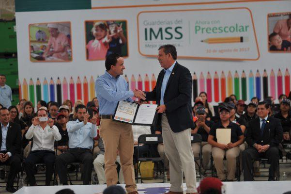 Darán las 53 guarderías del IMSS un año de preescolar