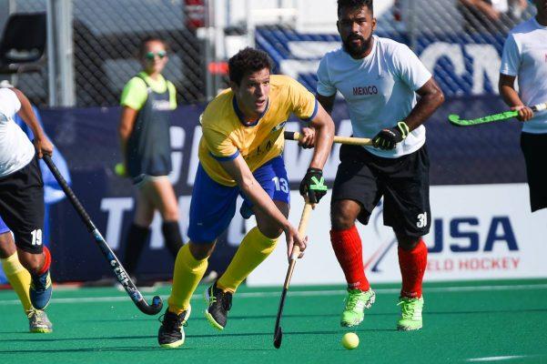 """Caen """"guanajuas"""" con la Selección; cuatro hockistas salmantinos vieron acción en la derrota ante Brasil"""