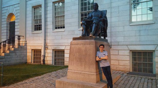 Desarrolla estudiante de la UG investigación en Harvard