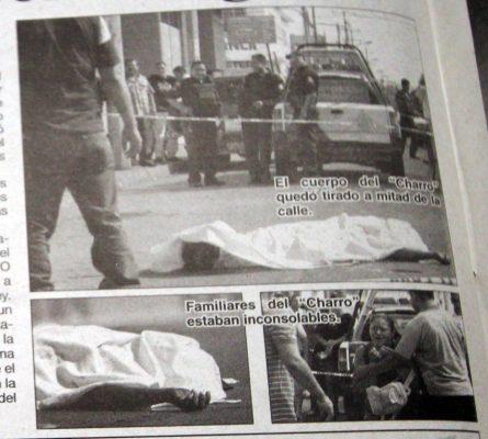 """Atrapan a asesino de """"El Charro"""""""