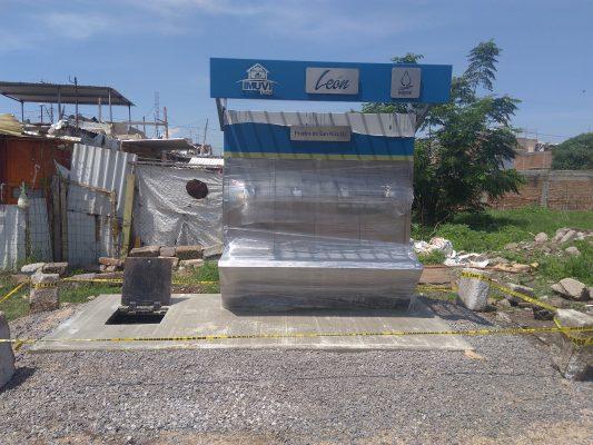 Construyen 6 tomas públicas de agua