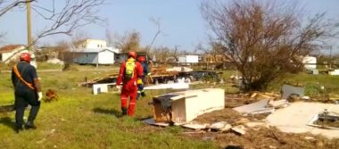 Bomberos de Silao trabajan en la búsqueda de 2 personas desaparecidas en Texas