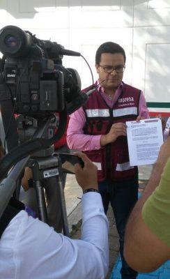 Protegen panistas a exdiputado: Morena