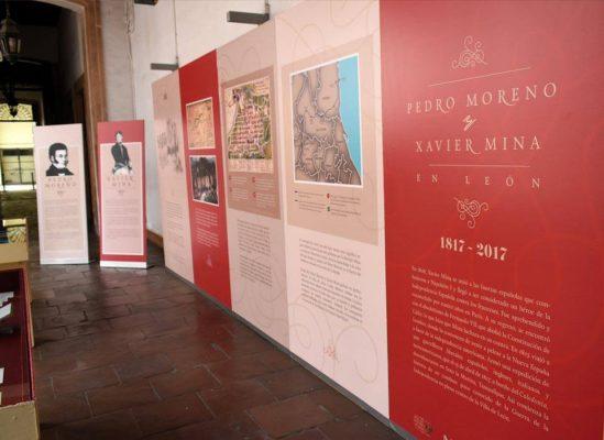 Pedro Moreno y Xavier Mina En el Museo de las Identidades