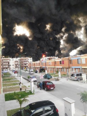 Incendio de toma clandestina de ductos de Pemex provocó pánico e incertidumbre
