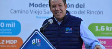 Anuncia Gobernador rehabilitación y modernización de vías en San Francisco del Rincón