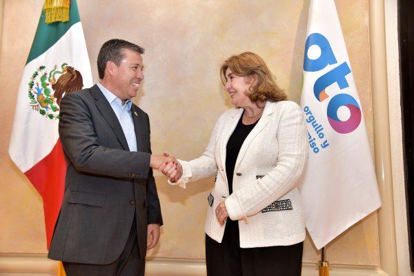 Intercambio cultural entre Guanajuato y Colombia