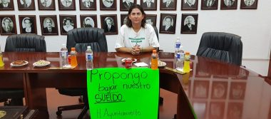 Regidora Del PVEM pide que integrantes del Ayuntamiento se bajen el sueldo