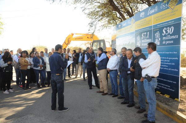 Inauguran, supervisan y anuncian obras de movilidad en el bulevar Timoteo Lozano