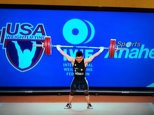 ¡Brilla con luz propia! Toño Vázquez ganó un bronce en el Mundial de Levantamiento de Pesas