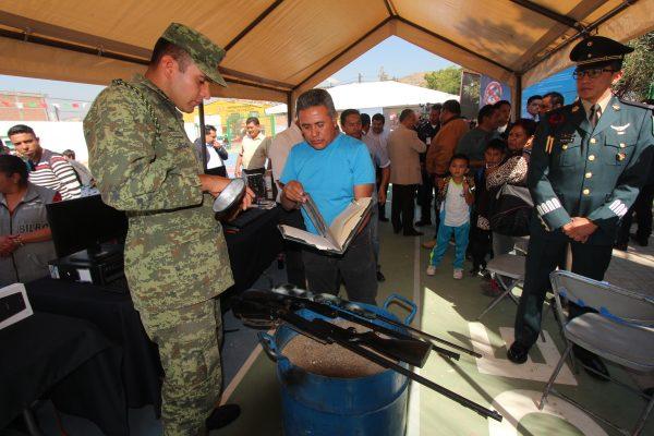 Arranca el programa Desarme Voluntario 2017