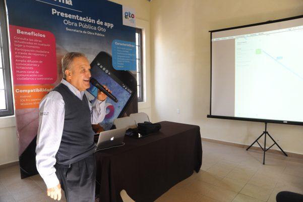 Lanza Secretaría de Obra Pública app para conocer avances de proyectos