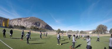 La Fiera intensifica labores; con todo y frío, los Verdes entrenaron en Pachuca