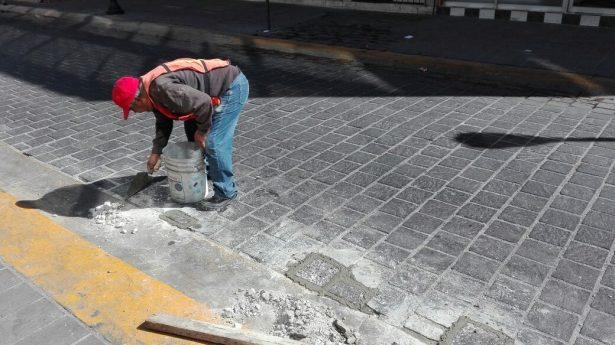 Probarán con concreto estampado en Calzada de los Héroes