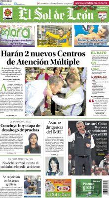 Edición digital El Sol de León – domingo 03   diciembre   2017