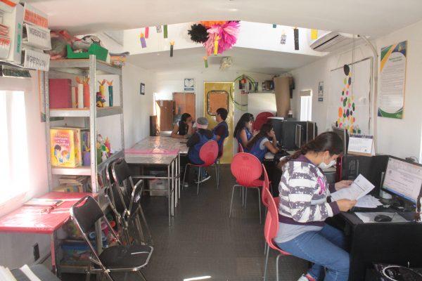 Centros del Saber, espacios para reforzar la educación