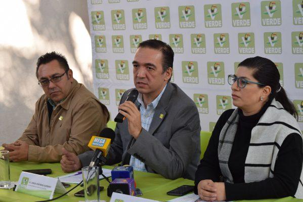 Irá Partido Verde sin coalición en Guanajuato