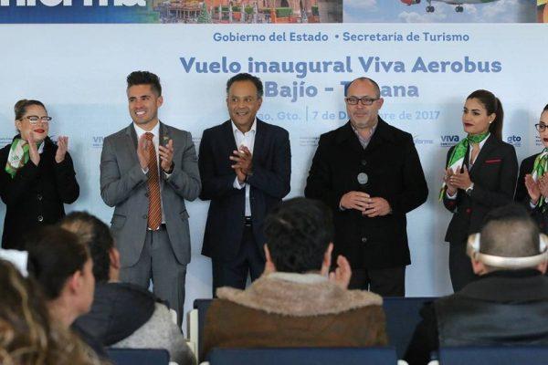 Enlaza León con Tijuana nuevo vuelo de Aerobús