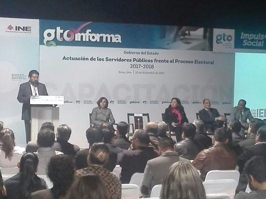"""Se lleva a cabo """"Actuación de los servidores públicos frente al proceso electoral 2017-2018"""""""