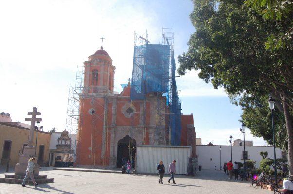 "Proyectan historia del Barrio de San Juan de Dios con ""video mapping"""