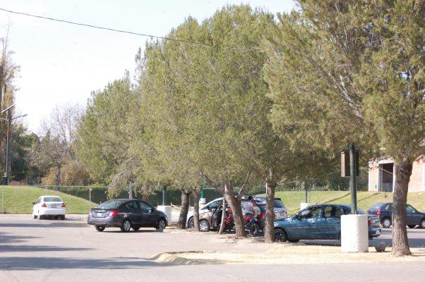 Polémica por construcción de nuevo estacionamiento en polígono Poliforum