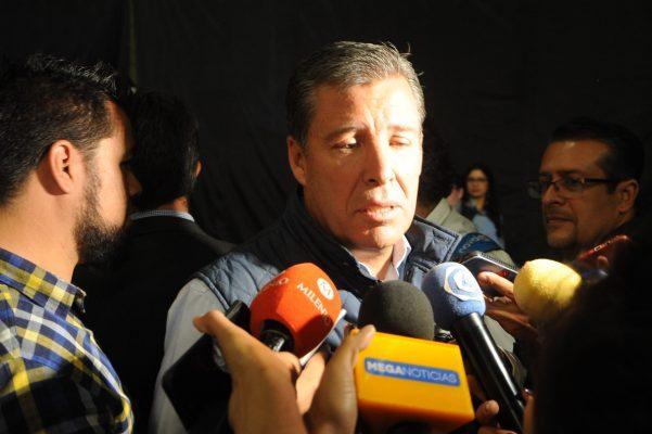 Desea suerte Gobernador a Aguirre Vizzuet en su búsqueda por la candidatura del PRI a la gubernatura