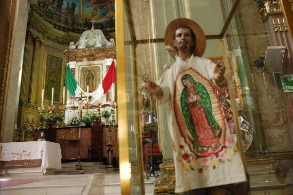 Celebrarán a la Virgen de Guadalupe