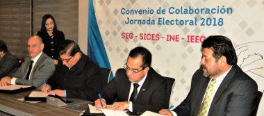 Garantizan elecciones bajo un ambiente de paz y libertad