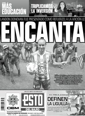 Edición digital ESTO del Bajío – martes 16 | enero | 2018