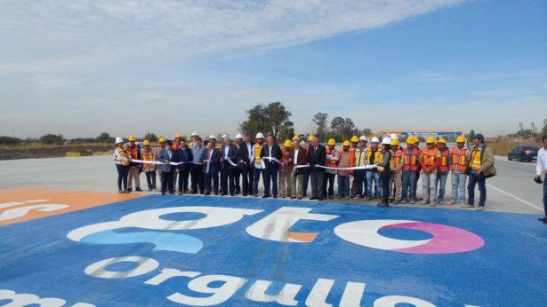 Inauguran nuevo tramo del Eje Metropolitano