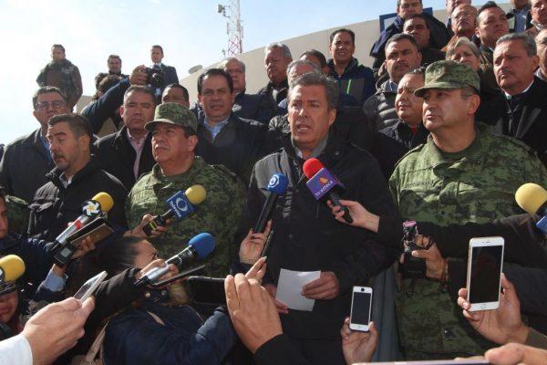 Inicia operaciones la Policía Militar en Guanajuato