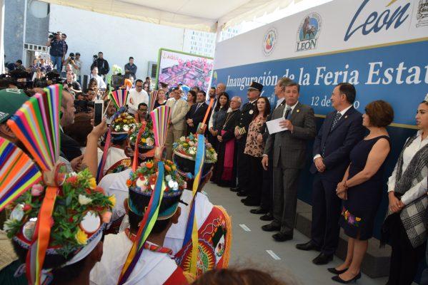 Feria de León es patrimonio intangible del estado de Guanajuato: Miguel Márquez
