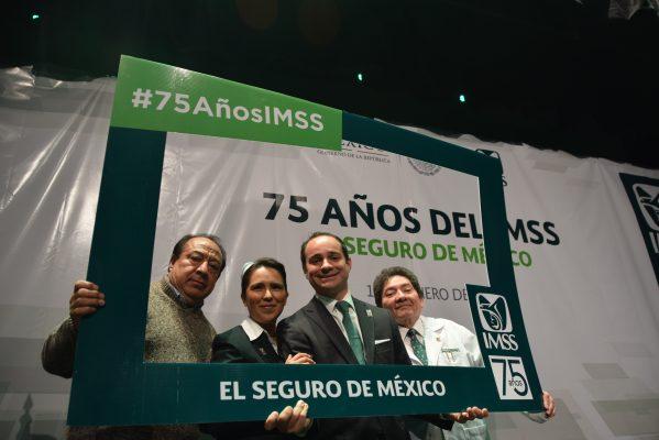 Se consolida el IMSS a 75 años de su creación