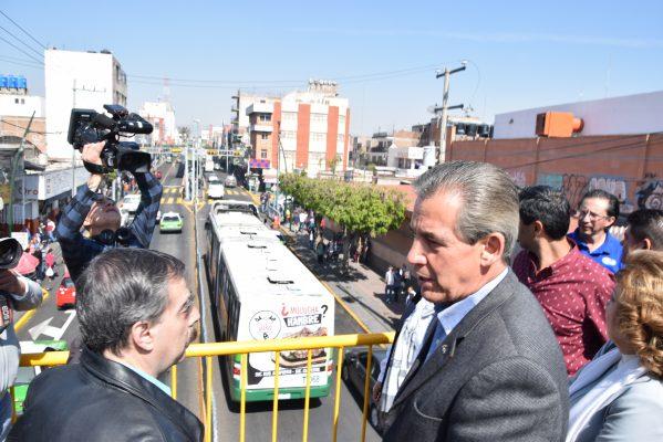 Entrega Alcalde obras de rehabilitación de la Miguel Alemán