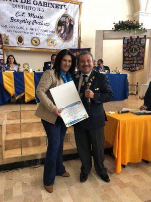 Club de Leones de León recibe reconocimiento