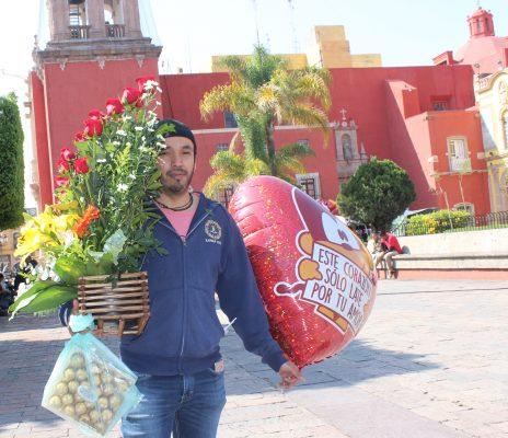 El Día de San Valentín se llevó en el pecho