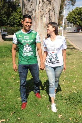 Leslie y Sergio, un amor de ¡gol!