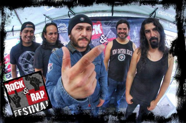 Conviven rockeros y raperos con sus fans