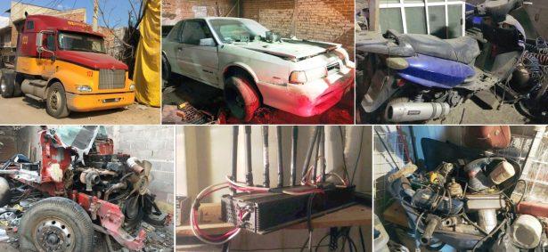 Recuperan vehículos robados en Piedra Azul