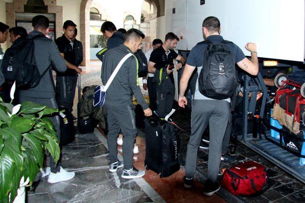 La Fiera completó un viaje de prácticamente nueve horas desde Mérida