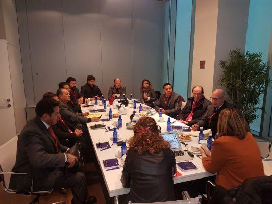 Funcionarios del SDES y empresarios emprenden gira por el País Vasco
