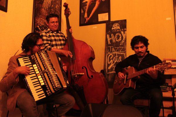 Noche de Jazz en el café de los artistas