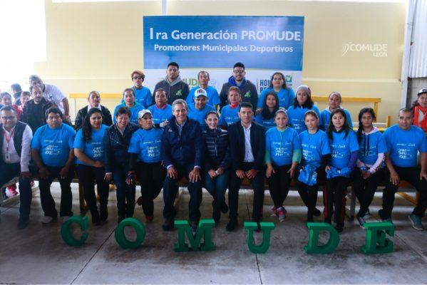 Mantienen el compromiso; León tiene a 26 nuevos promotores deportivos certificados