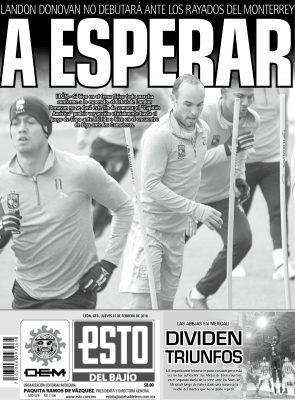 Edición digital ESTO del Bajío – jueves 01   febrero   2018