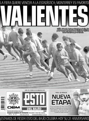 Edición digital ESTO del Bajío – viernes 02 | febrero | 2018