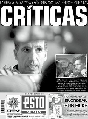 Edición digital ESTO del Bajío – jueves 08 | febrero | 2018
