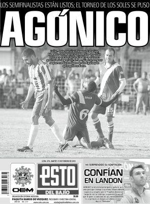 Edición digital ESTO del Bajío – martes 13 | febrero | 2018