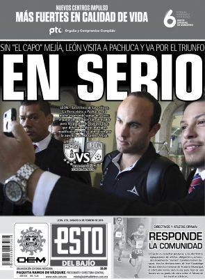 Edición digital ESTO del Bajío – sábado 24 | febrero | 2018