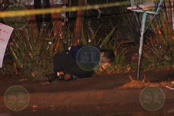 Hombre asesinado en Balcones de la Presa sigue sin identificar